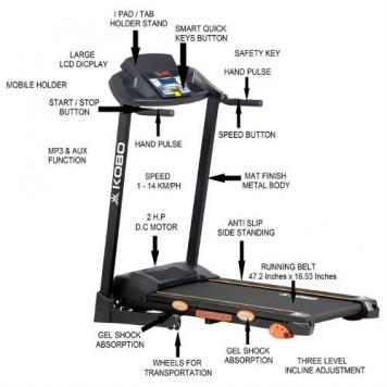 Kobo TM-201 Treadmill